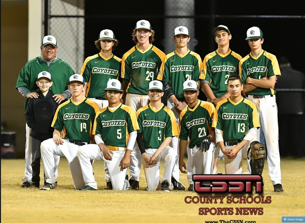 Cypress Creek Coyotes Baseball Inaugural Season